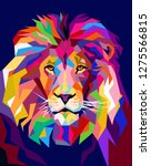 A Lion Illustration  Creative...