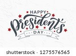 Happy Presidents Day With Star...