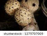 "rattan ball or ""takraw"" ancient ... 