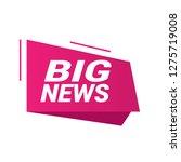 big news sign  emblem  label ...