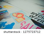 background on the theme of... | Shutterstock . vector #1275723712
