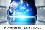 edge computing modern it... | Shutterstock . vector #1275746422