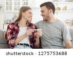 lovers ready to become parents... | Shutterstock . vector #1275753688