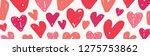 valentine's day sale header... | Shutterstock .eps vector #1275753862