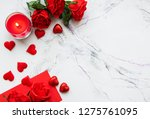 valentines day romantic... | Shutterstock . vector #1275761095