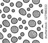 vector monochrome background | Shutterstock .eps vector #127580222