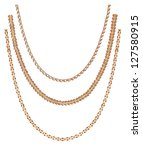 necklace | Shutterstock . vector #127580915