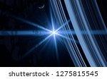 2d illustration. realistic star ... | Shutterstock . vector #1275815545