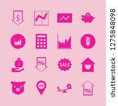 economy icon set. economy... | Shutterstock .eps vector #1275848098