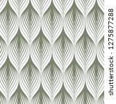 geometric pattern. linear roof... | Shutterstock .eps vector #1275877288