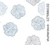 dark blue vector seamless...   Shutterstock .eps vector #1275886132