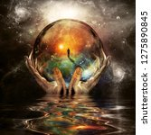 Crystal Ball In Hands Of God....
