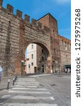 the fortress wall in verona ... | Shutterstock . vector #1275975268