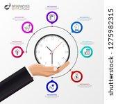 infographic design template.... | Shutterstock .eps vector #1275982315