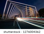 modern city of shanghai at night | Shutterstock . vector #1276004362