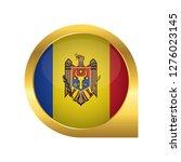 flag of moldova  location map... | Shutterstock .eps vector #1276023145
