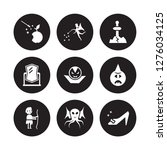 9 vector icon set   fairy tale  ... | Shutterstock .eps vector #1276034125