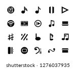 vector illustration of 20 icons.... | Shutterstock .eps vector #1276037935