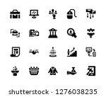 vector illustration of 20 icons.... | Shutterstock .eps vector #1276038235