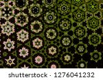 abstract geometric background... | Shutterstock . vector #1276041232