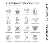 16 linear electronic devices... | Shutterstock .eps vector #1276043245
