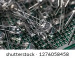 electronic components  lots of... | Shutterstock . vector #1276058458