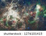 nebula an interstellar cloud of ... | Shutterstock . vector #1276101415