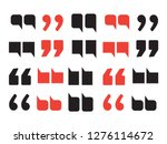 quotes abstract background for... | Shutterstock .eps vector #1276114672