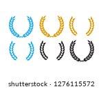 round laurel and oak heraldry... | Shutterstock .eps vector #1276115572