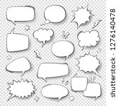 Speech Bubbles. Vintage Word...