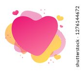 template design valentine sale... | Shutterstock .eps vector #1276144672