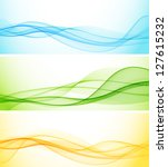 abstract banner | Shutterstock .eps vector #127615232