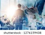business event congratulated... | Shutterstock . vector #1276159438