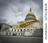 Usa Shutdown And United States...
