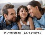 beautiful family bonding  cute... | Shutterstock . vector #1276190968