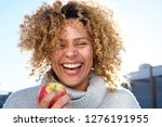 close up portrait of healthy... | Shutterstock . vector #1276191955