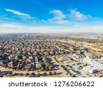 aerial view new development...   Shutterstock . vector #1276206622