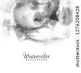 abstract black watercolor... | Shutterstock .eps vector #1276208428