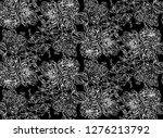 seamless pattern of flowers.... | Shutterstock .eps vector #1276213792