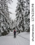 fairy tale winter in the... | Shutterstock . vector #1276228198