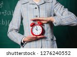 schedule and regime. alarm... | Shutterstock . vector #1276240552