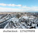 aerial view of the city.... | Shutterstock . vector #1276299898