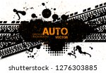 off road dirt rally hand drawn... | Shutterstock .eps vector #1276303885