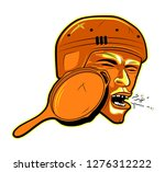pubg logotype   a blow to the... | Shutterstock .eps vector #1276312222