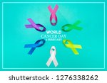 world cancer day concept... | Shutterstock . vector #1276338262