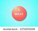 wave blue lines pattern... | Shutterstock .eps vector #1276352038