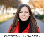 outdoor headshot of 20s year... | Shutterstock . vector #1276355452
