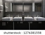 faucets with washbasin in... | Shutterstock . vector #1276381558