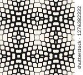 vector halftone mesh texture.... | Shutterstock .eps vector #1276382332