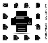 fax or printer with file in...